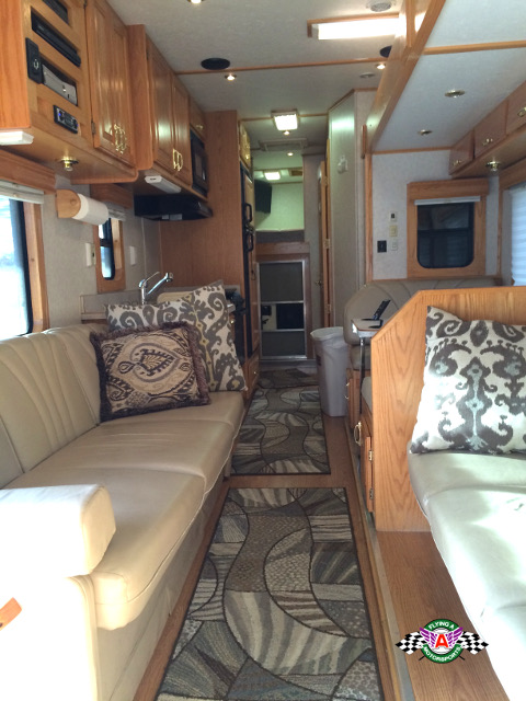 2003 Showhauler Motorhome with ATV / MTX Garage - Flying A