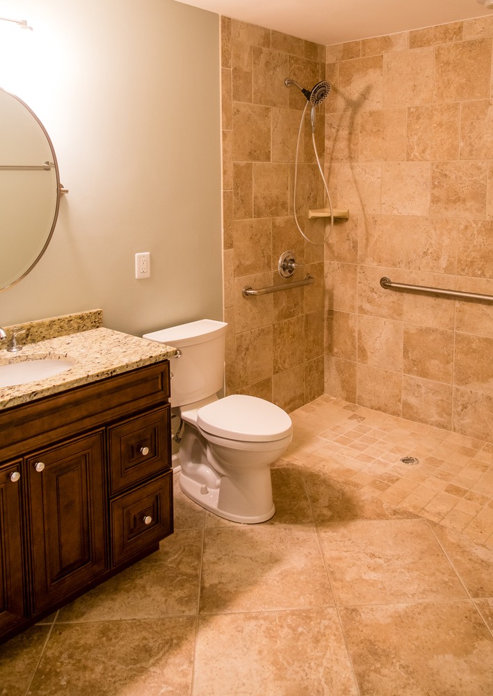 How to Design an Accessible Bathroom for the Elderly - Akers Home ...
