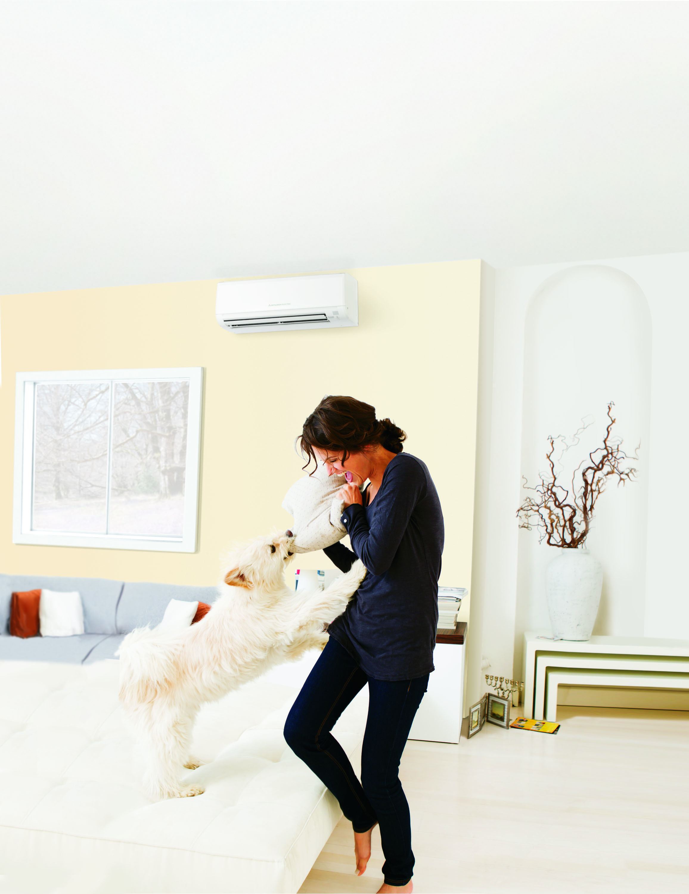 save on a new mitsubishi electric ac with a 400 rebate
