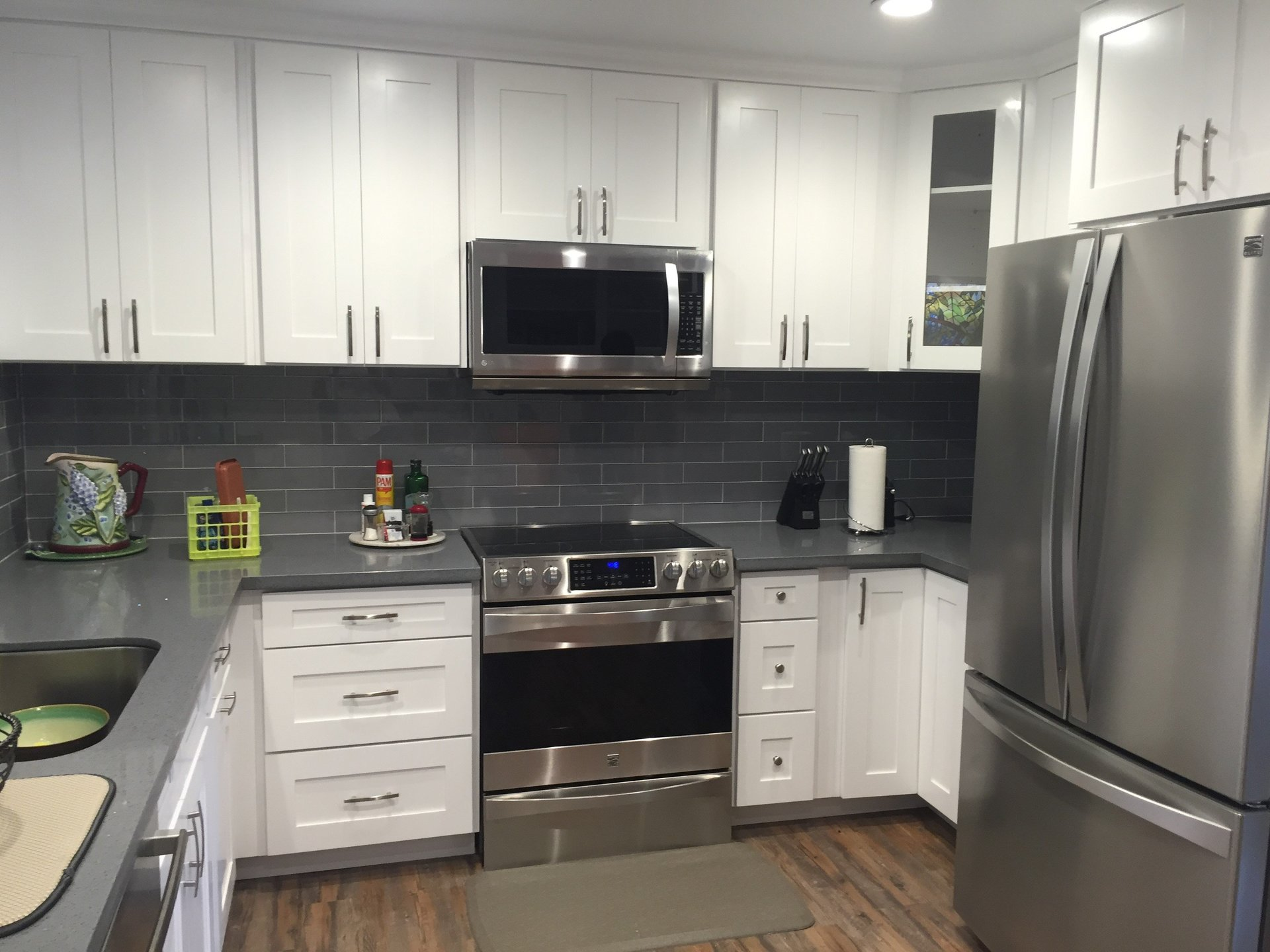 The Best Approach Is Often A Minimalist One. If You Prefer Something Sleek  And Clean, Opt For Plain Faced Cabinets. You Can Then Add A Contrasting ...