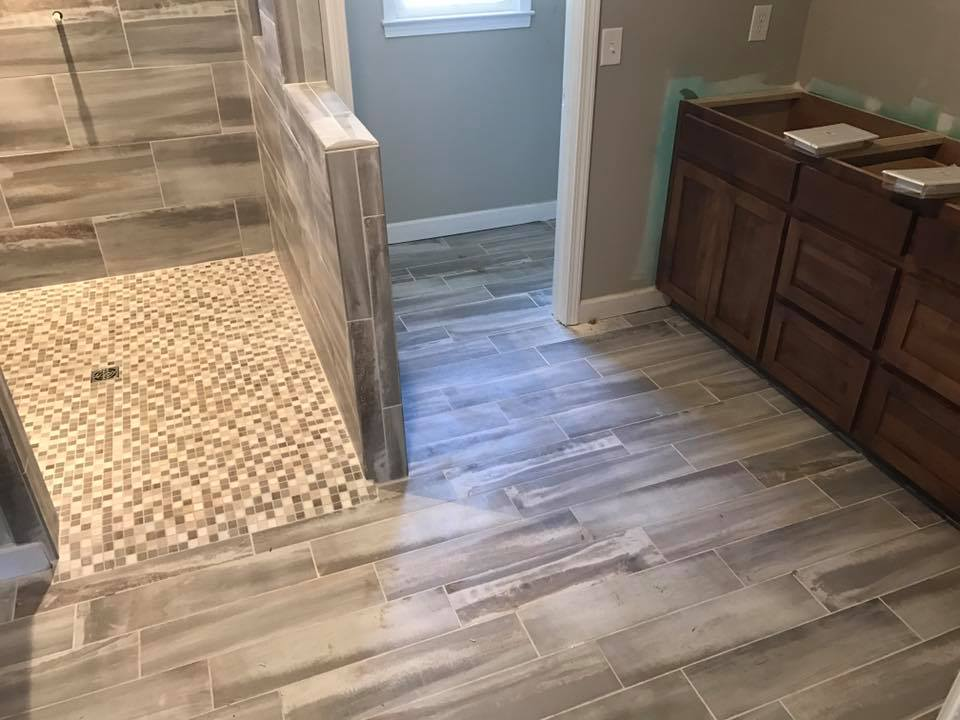 Vinyl Planks Stone Finishes And Textures Are Also Options With Gray Being A Popular Choice Styles Work Well For Bathrooms Kitchens