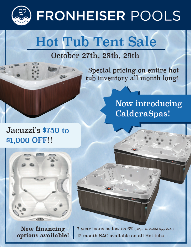 caldera spas are designed by hot tub enthusiasts for hot tub enthusiasts and fronheiser pools stands by the physical and mental benefits of having a