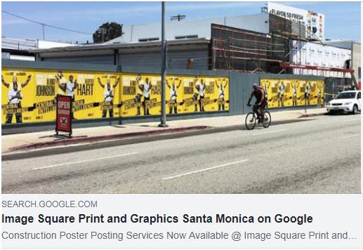 Santa Monica Construction Poster Printing [2019] - Image