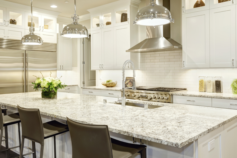 3 Tips To Match Granite With Your Kitchen Cabinets Big Island