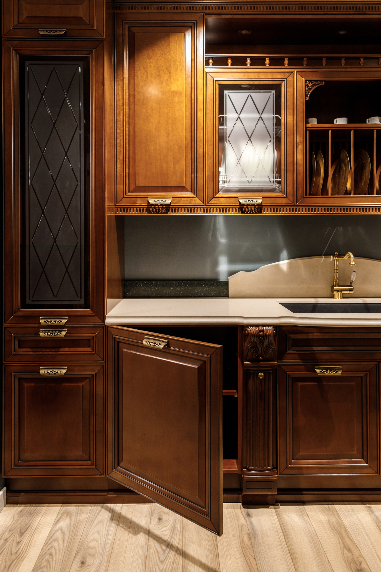 3 Reasons to Refinish Kitchen Cabinets Instead of Replacing ...