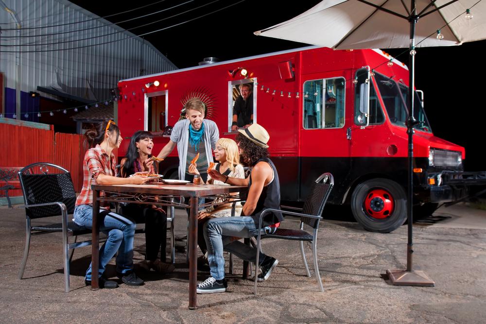 start a food truck