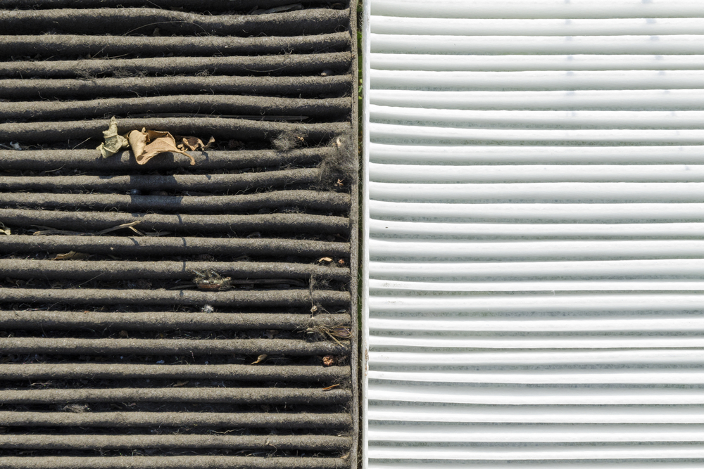 how to clear a blocked car air conditioning system