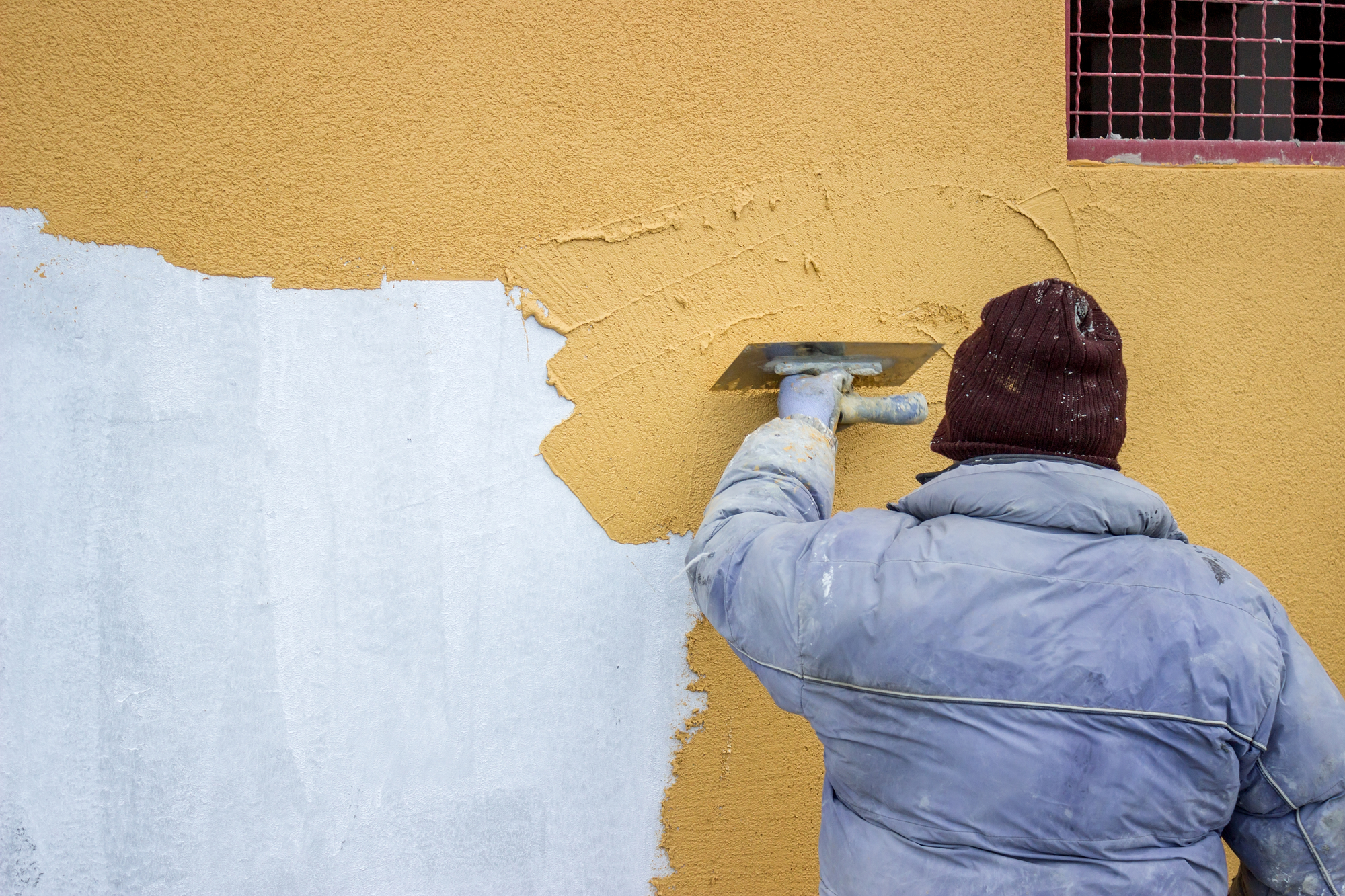 What is the difference between plaster and putty? Textured plaster. Putty for painting 24