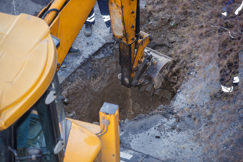 Directional drilling its use to install underground
