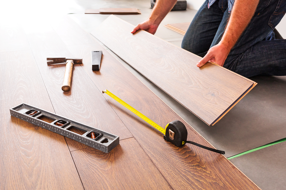 3 Surfaces You Can Install Hardwood Floors Over Thayer Decorating
