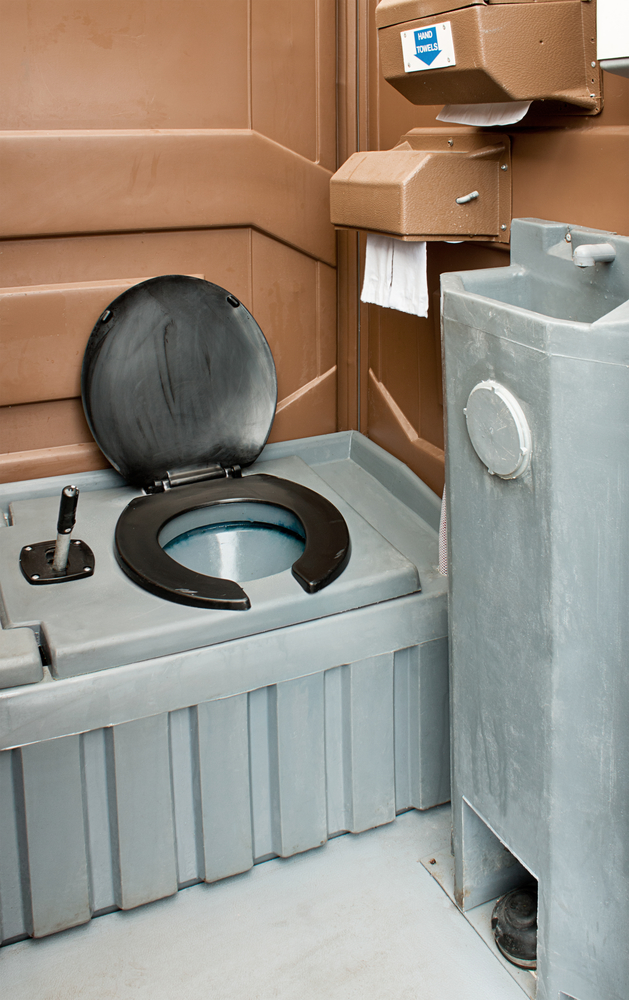 portable bathrooms