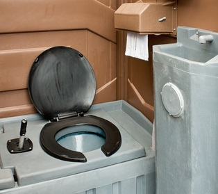 portable toilets oakley