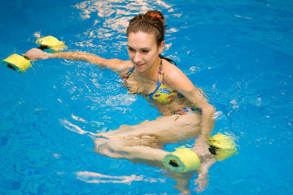 swimming dumbbell