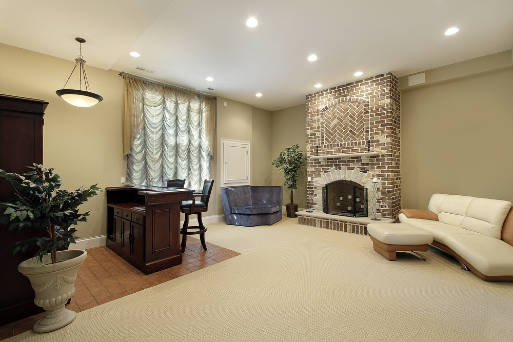 3 Interior Painting Ideas For Complementing A Brick Fireplace