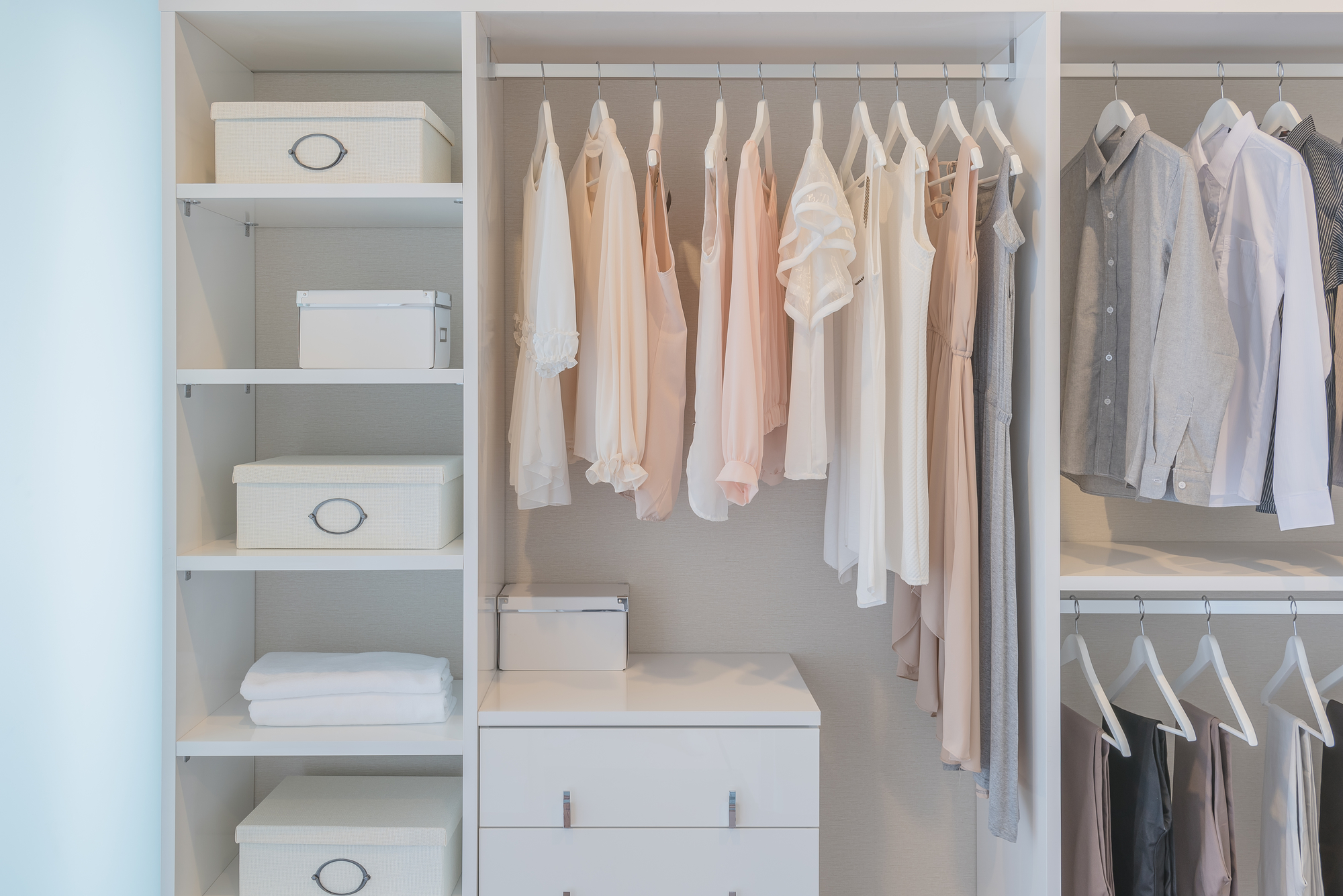 How To Keep Your Closet Organized Designer Glass Raleigh