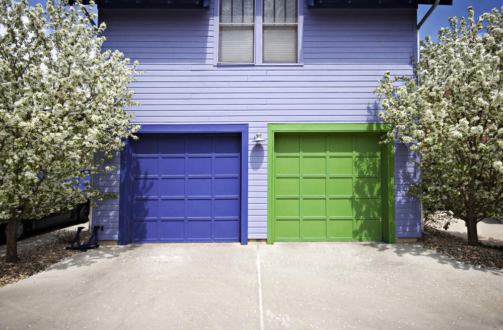 3 Tips for Choosing the Right Color for Your Garage Door ... on Garage Door Colors Pictures  id=30704