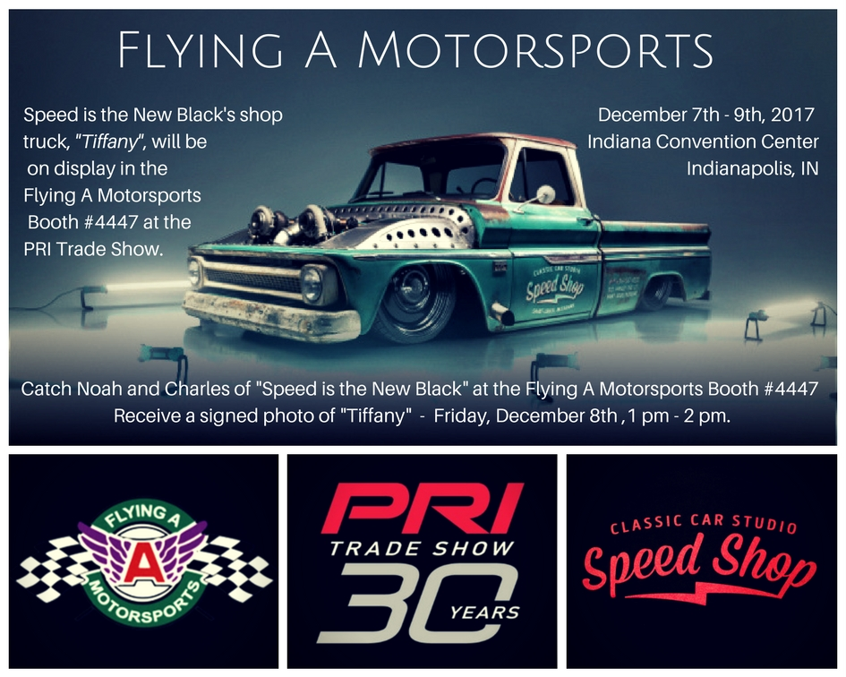 Flying A Motorsports Is Teaming Up With Classic Car Studios At The - Classic car studio tv show