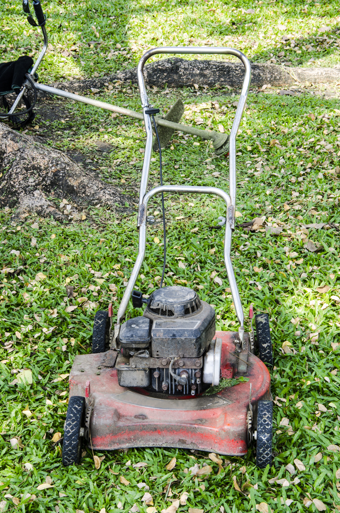 Granville Ohio lawn mower