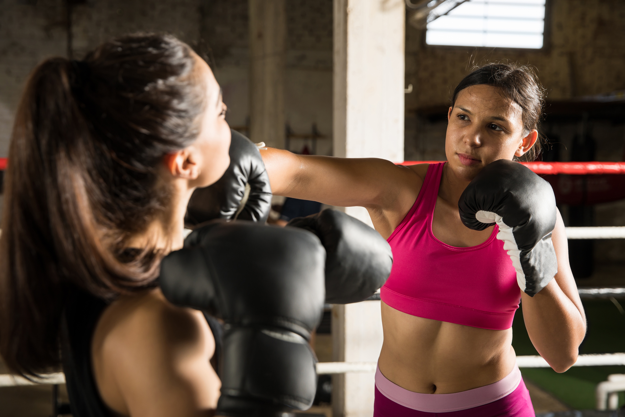 women's boxing