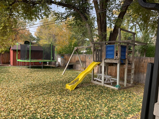 759 Poplar st Denver Back yard