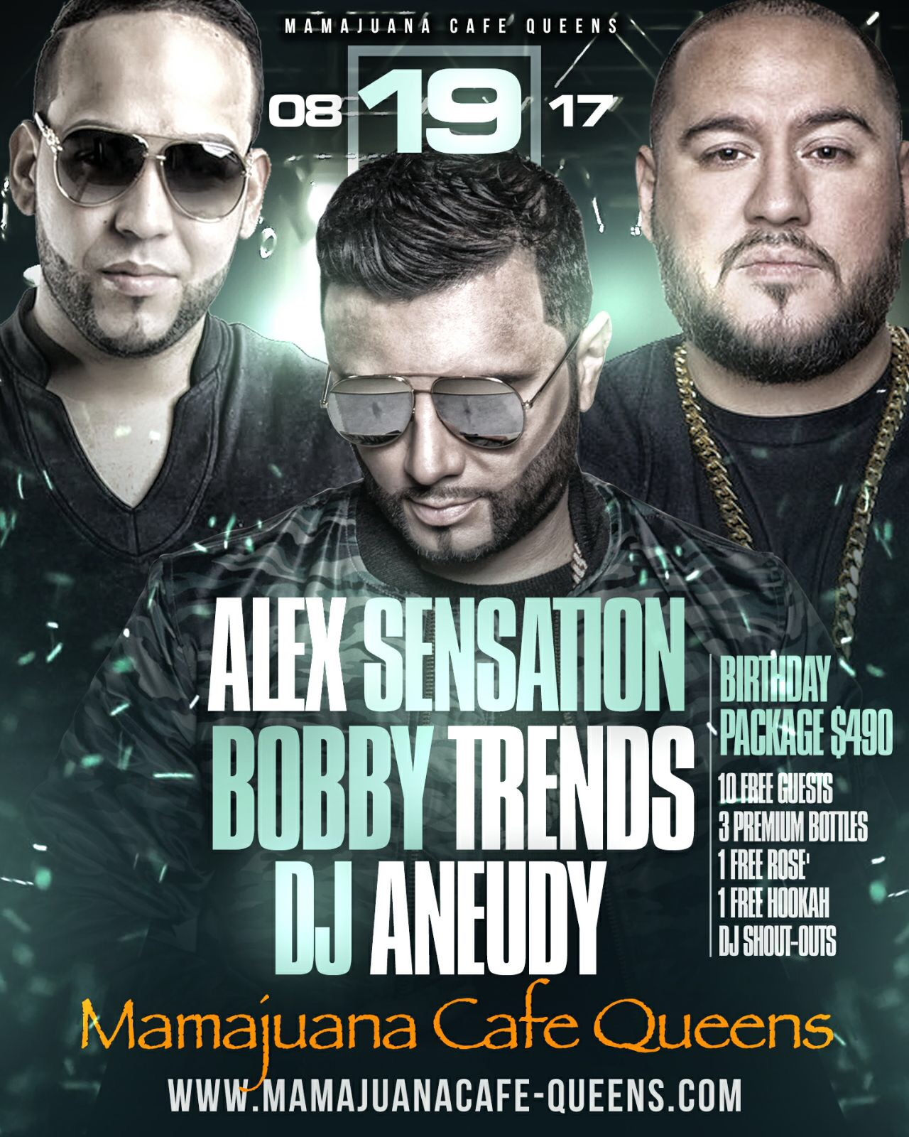 Alex Sensation Is Back! Mamajuana Cafe Queens