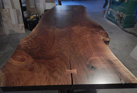 How To Work With Live Edge Wood Slabs Trumbull County