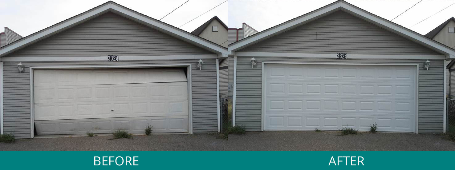 3 Steps To Take After Backing Into Your Garage Door Great Garage