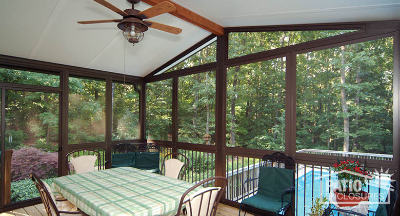 3 covered patio features to factor into your design ideas patio enclosures east rochester - Enclosed balcony design ideas oases of serenity ...