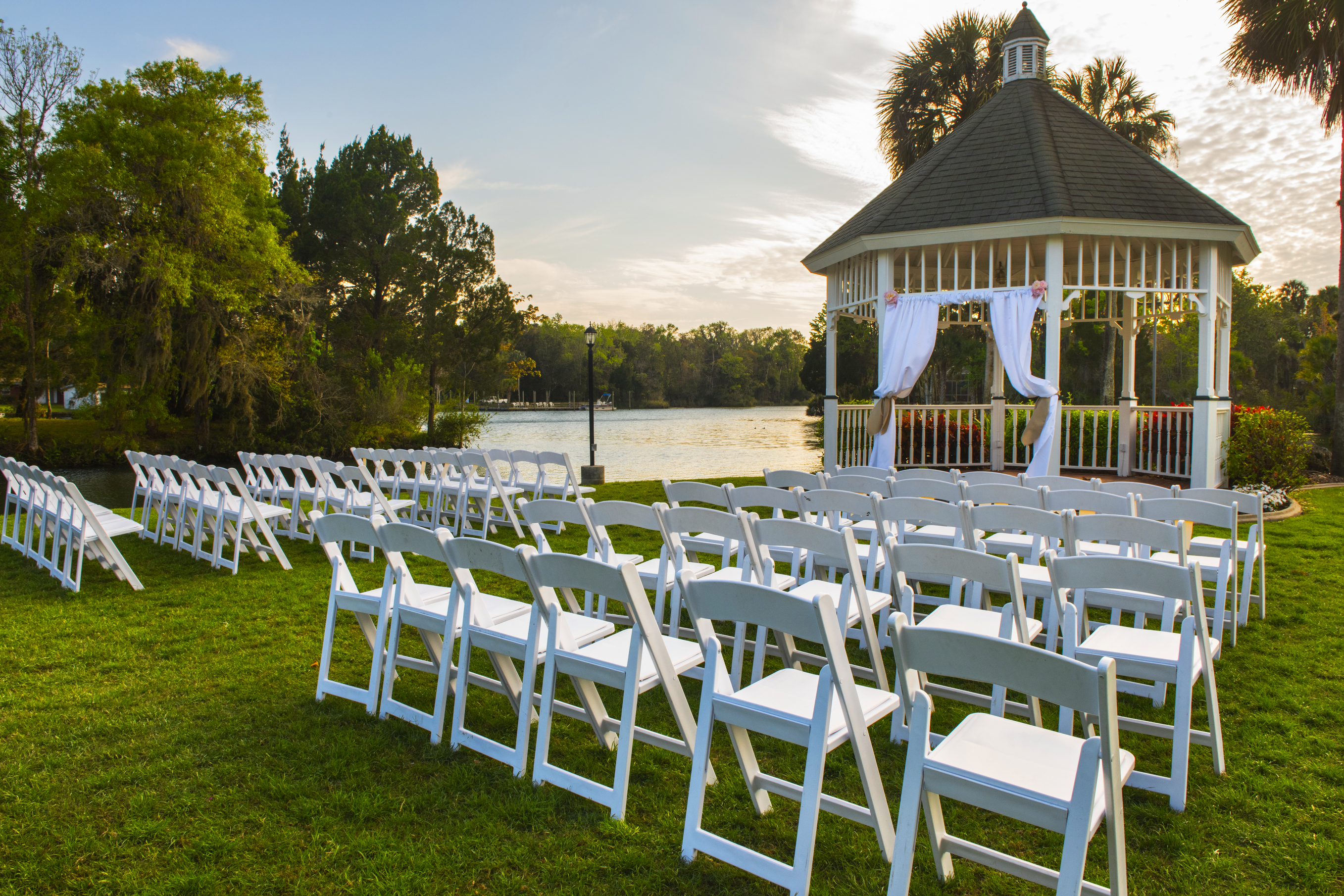 From Patio Furniture to Umbrellas How to Host a Wedding in Your Backyard W