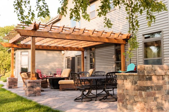 patio installation - The Different Types Of Pergolas For Your Patio Installation - JK