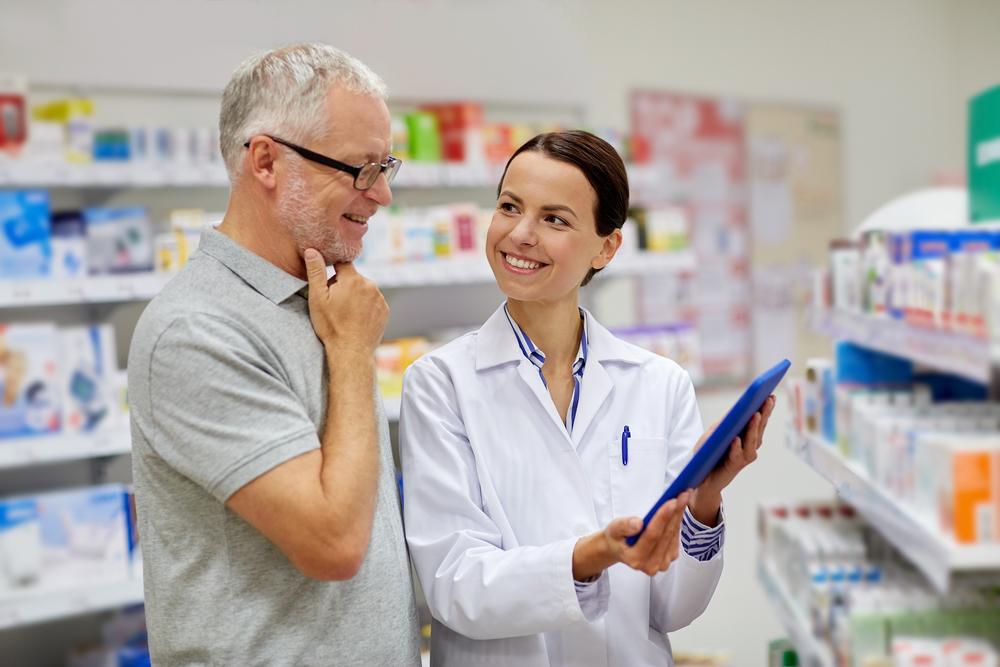 Online pharmacy prescription consultation