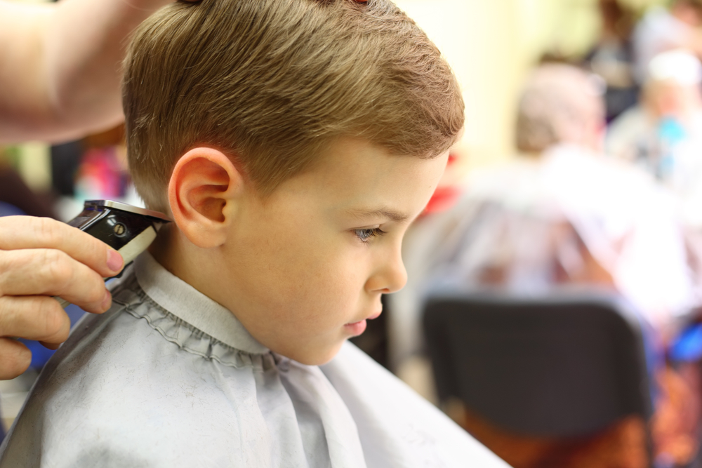 A Guide To A Successful First Kids Haircut Premier Cuts Hair