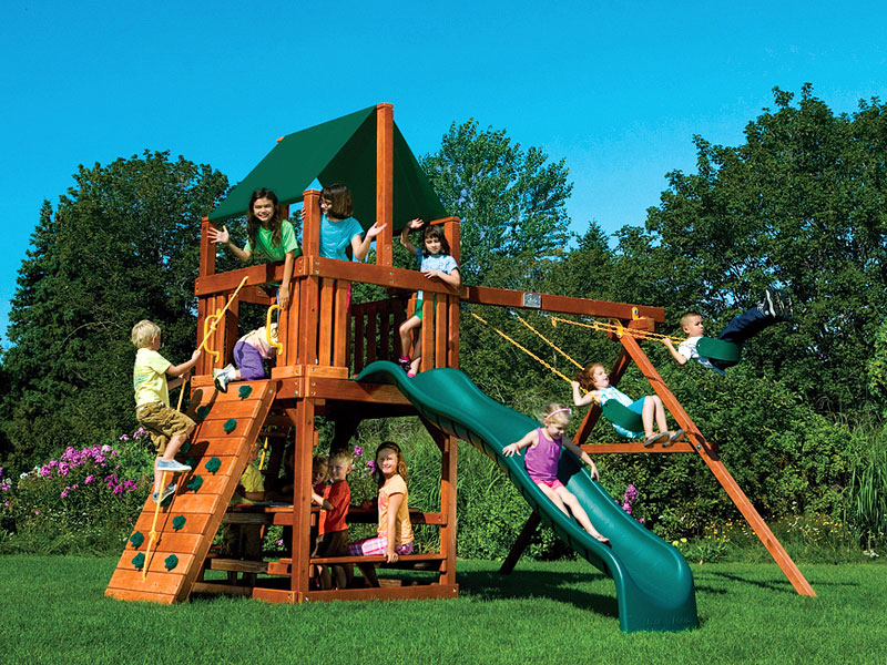 Why Choose Rainbow Play Systems Swing Sets Rainbow Play Systems