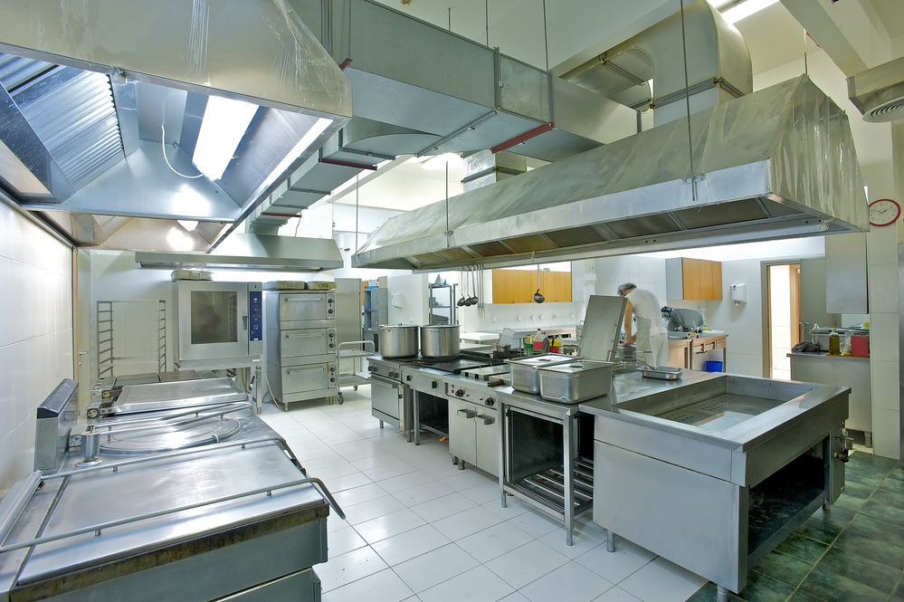 Commercial Kitchen Equipment In Residential Kitchen