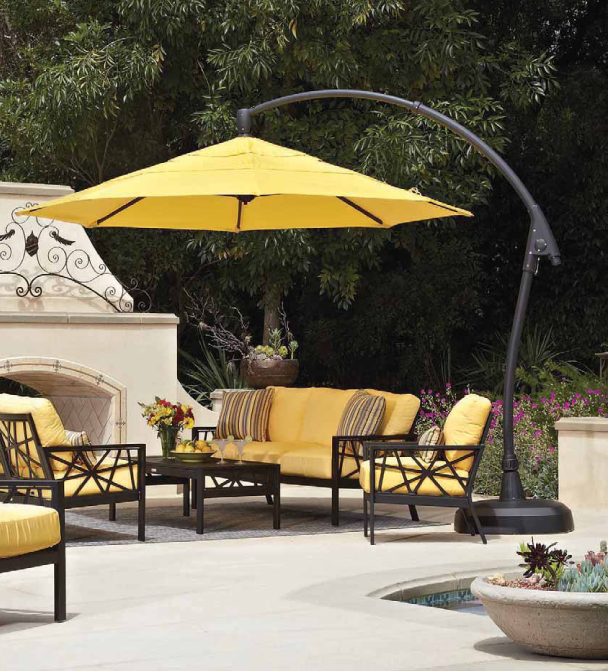 Some Umbrellas Need To Be Mounted To Tables While Others Are Freestanding.  If You Host Frequent Patio Dinners, Then A Table Umbrella Will Serve You  Well.