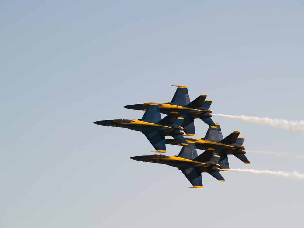 Watch Blue Angels Beach Show from Condo