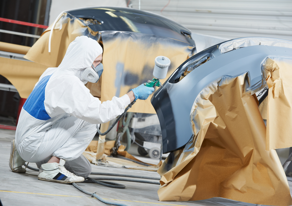 Understanding the cost of fender bender collision repairs for Auto painting cost