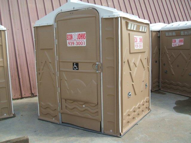 handicap toilet unit