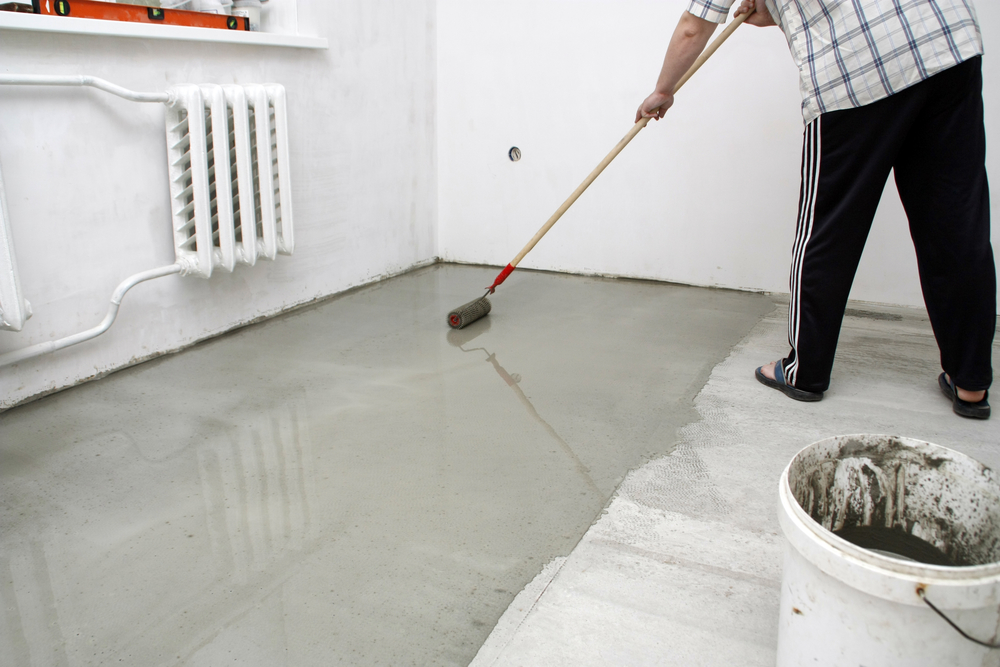 3 best cement garage floor coatings builder s concrete for Best way to get oil off concrete
