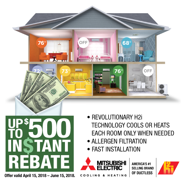 cooling and heating system rebate