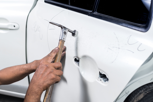 How Much Does Dent Removal Cost? - Panorama Collision Inc