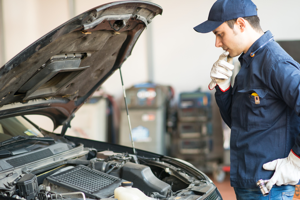 An auto repair shop explains what an nys motor vehicle for Ny motor vehicle inspection