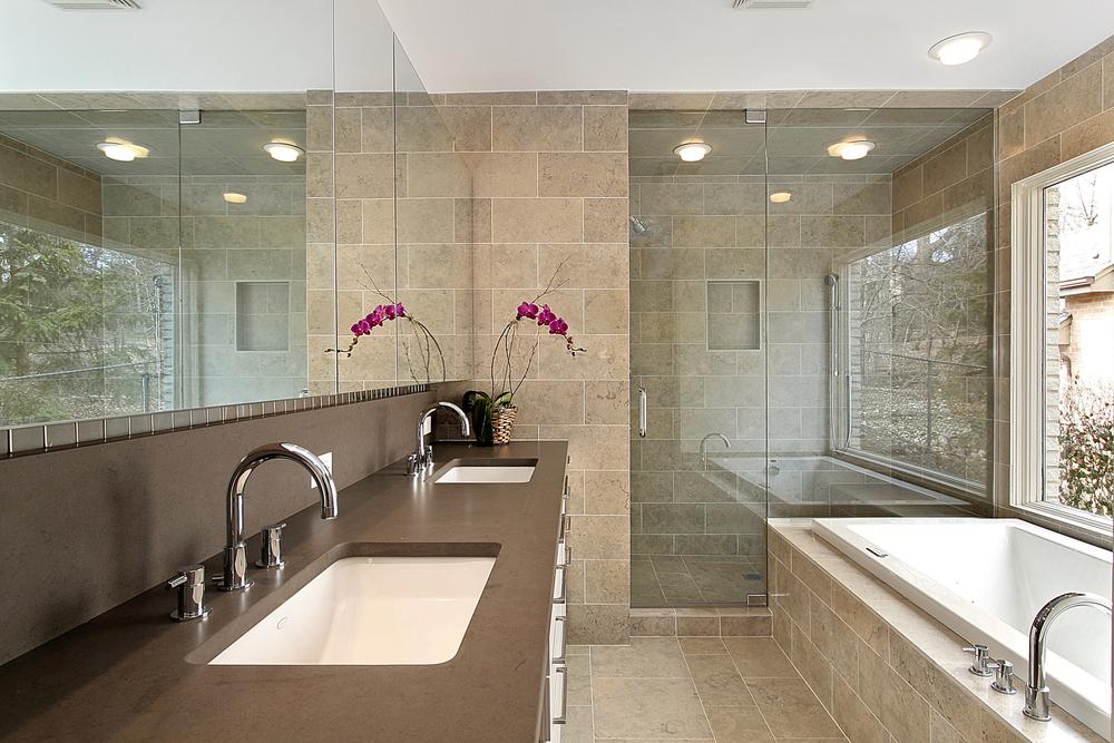 Bathroom Design Advice: Enclosed & Open Concept Showers - A&E ...