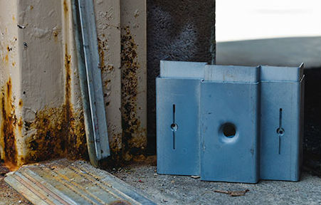 corroded metal door frame & Series 1 Part 5: Can I Stop or Slow Down Rust by Painting Over a ...