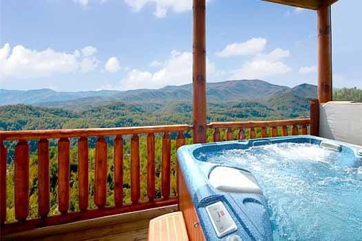 tn cabin bedroom haven exterior tennessee creek bear gatlinburg at in cabins rental