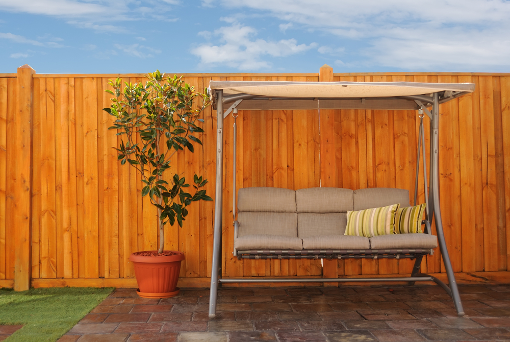 Cedar Fencing Outdoor Temperatures And Conditions Will Affect Your Project.  Plan To Stain On A Day With Low Humidity, When Temperatures Are Between 40  And ...