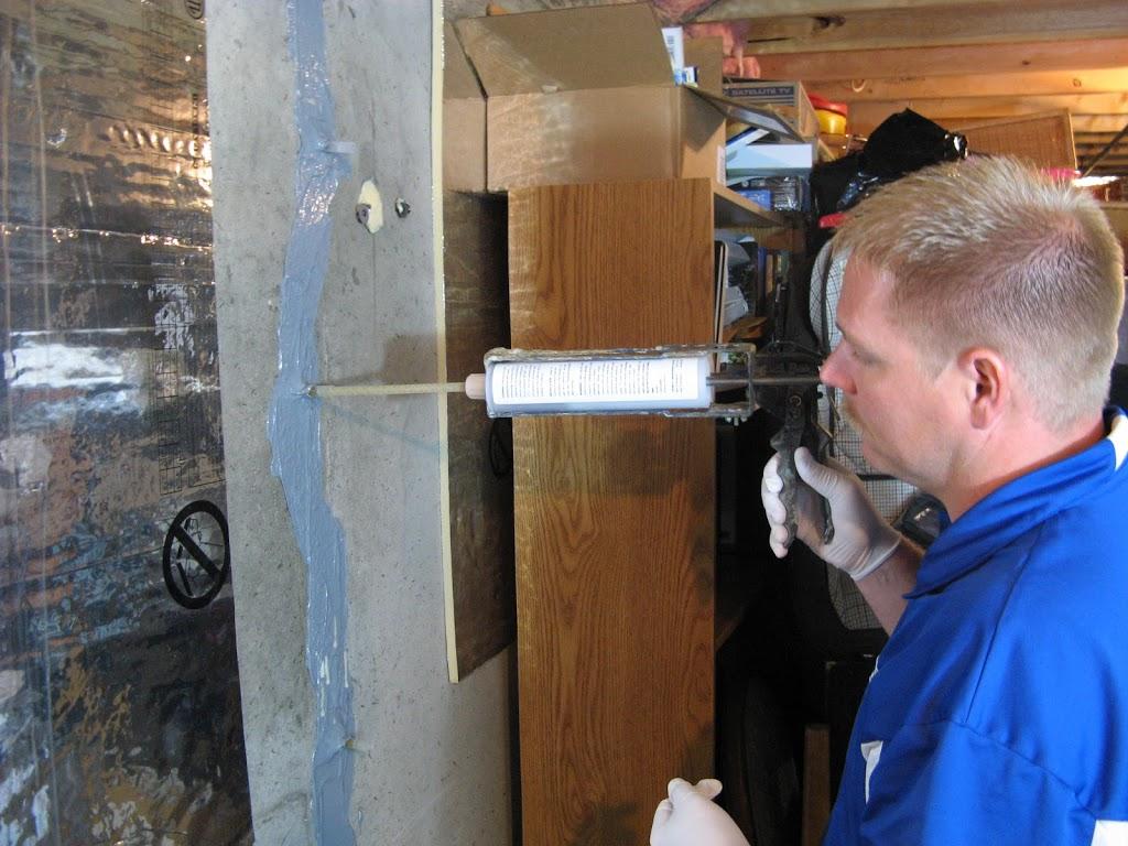Identifying Basement Wall S Vertical Repair