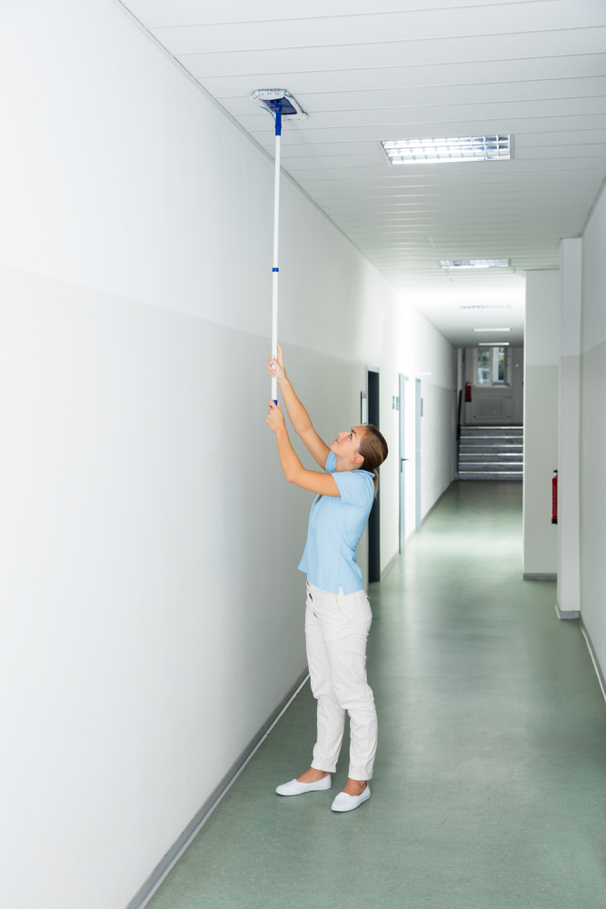 4 Benefits Of Adding Acoustic Tile Ceiling To Your Office Cleaning