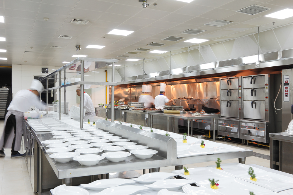 3 Common Types of Commercial Kitchen Equipment Layouts ...