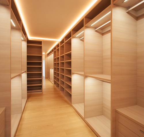 Put Together Outfits With Perfectly Complimenting Or Matching Colors With  The Help Of LED Lighting. Installing These Lights Give Walk In Closets A  Brighter, ...